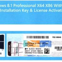 Windows 8.1 Professional Original Lisensi + COA (Garansi Lifetime)