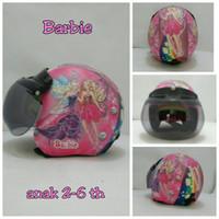harga helm retro bogo anak motif  barbie /helm sepeda Tokopedia.com