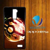 Custom Casing HP OPPO R7 Plus Pokemon Raichu Z3797 Hardcase, Custom Ca