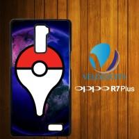 Custom Casing HP OPPO R7 Plus Pokemon Go Symbol Z3791 Hardcase, Custom