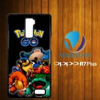 Custom Casing HP OPPO R7 Plus Pokemon Go Evolution Z3773 Hardcase, Cus