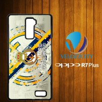 Custom Casing HP OPPO R7 Plus real madrid Los Blancos Z3769 Hardcase,