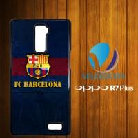 Custom Casing HP OPPO R7 Plus Barcelona Logo Z3741 Hardcase, Custom Ca