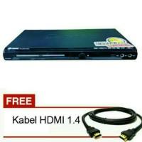 Dvd Player Gmc + Kabel Hdmi