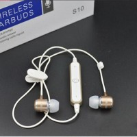 Headset Samsung S10 Bluetooth Earbuds Wireless / Handsfree S-10