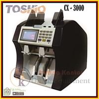 Jual TOSHIO CX 3000/Mesin hitung uang/Mesin penghitung uang/Money Counter Murah