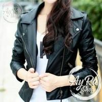 Jual Jaket Semi Kulit Wanita / Summer Style Leather Murah
