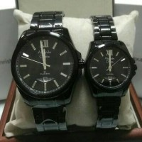 harga JAM TANGAN COUPLE ALEXANDRE CHRISTIE(AC)8473 BLACK ORIGINAL G-1 THN Tokopedia.com