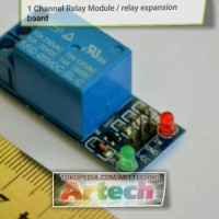 Relay 1 Channel 5V Volt DC output 250VAC / 30VDC 10A project elektro