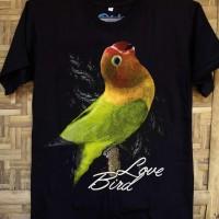harga Kaos Baju Burung Kicau Mania Lovebird Tokopedia.com