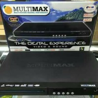 Dvd Player Multimax Connect Usb / OutPut Mic