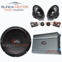 PAKET AUDIO CELLO SILVER By Sunda Motor