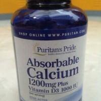 Absorbable Calcium 1200 mg + Vit D3 1000 IU | 100 Softgels Puritan