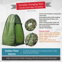 Tenda lipat portable camping serbaguna wc ganti baju/fitting room NEW