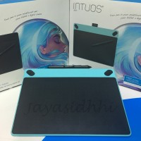Jual CTH-490/B0 WACOM Intuos Art Blue Small Bonus Softcase & Antigores Murah