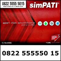 Nomor Cantik simPATI 4G LTE Super Panca Bahan Sakti 0822.555550.15