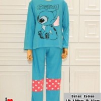 Harga 02158 setelan stitch piyama | Hargalu.com