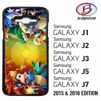 Casing Hp (Cover) Samsung Galaxy J1,J2,J3,J5,J7 2015 & 2016 Pokemon tr