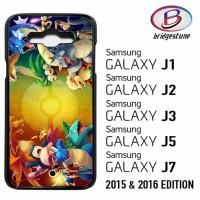 Casing Hp (Cover) Samsung Galaxy J1,J2,J3,J5,J7 2015 & 2016 Pokemon tr