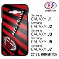 Casing Hp (Cover) Samsung Galaxy J1,J2,J3,J5,J7 2015 & 2016 AC Milan F
