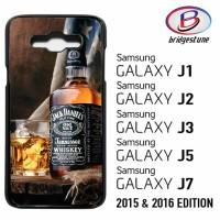 Casing Hp (Cover) Samsung Galaxy J1,J2,J3,J5,J7 2015 & 2016 Jack Danie