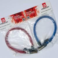 Harga Kunci Sepeda Kabel Merk Pasific Gembok Sepeda Kabel Cable Lock   WIKIPRICE INDONESIA