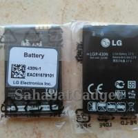 Baterai Battery Batre LG GW300/C300/A133 LGIP-430N ORIGINAL100%