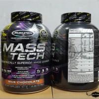 Mass Tech Chocolate 7lbs 7lb 7 lb lbs Gainer Muscletech Masstech