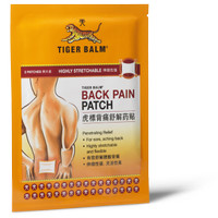 Tiger Balm - Back Pain Patch - Made in Singapore - Large