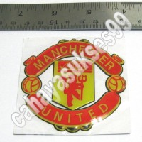Sticker Gambar Klub Bola Manchester United Besar New Football Club MU