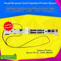 Head Scanner Unit Printer Epson TX121 L200 ME340 Cabutan