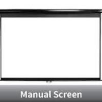 "Screen Projector ( Layar Projector ) Manual Wall Mount 70"" (1778x1778"