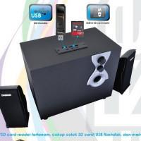 harga Dazumba DZ2000 D-Remix 2.1 Active Multimedia Speaker - Salon Aktif USB Tokopedia.com