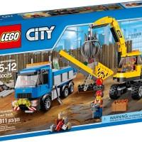 harga Lego City 60075 Excavator and Truck Set Tokopedia.com