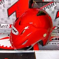 harga Promo Besar Helm Basic Best1 Merk Takira Stiker INK Tokopedia.com