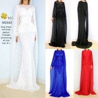 Harga m0442 long dress mermaid | antitipu.com
