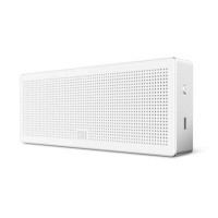 Xiaomi speaker bluetooth protable cube original bass stereo-Putih
