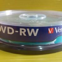 DVD-RW Verbatim 4X 4,7 GB (Tabung Isi 10 Keping)