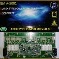 KIT DRIVER POWER AMPLIFIER APEX GM A-5001