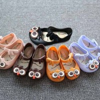 Sepatu Bayi Jelly Shoes 3 Motif OWL Import (No Box)
