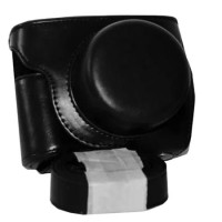 Leather Case For Nikon 1 J5 - HITAM