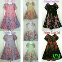 harga Dress Vega Bunga Sakura Tokopedia.com