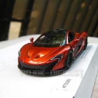 McLaren P1 Brown Diecast Kinsmart Miniatur Mobil Sport
