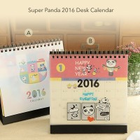 Jual Super Panda 2016 Desk Calendar / Kalender Murah
