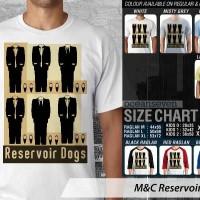 T Shirt Kaos Distro M&C Reservoir Dogs