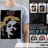 T Shirt Kaos Distro M&C Marilyn