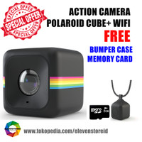 NEW Polaroid Cube+ WIFI Action Camera - Hitam