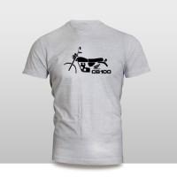 harga Kaos Baju Pakaian MOTOR HONDA CB 100 GELATIK SILUET murah Tokopedia.com