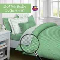 sprei motif baby polkadot set single