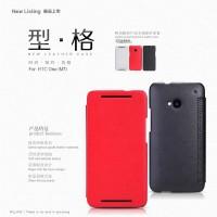 NILLKIN Stylish Series Leather Case HTC One M7 Original - Red